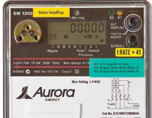 Read your meter and track your electricity use | Aurora Energy