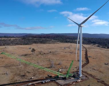 Cattle Hill Wind Farm Turbine